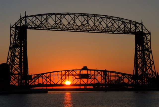 The Aerial Lift Bridge Of Duluth