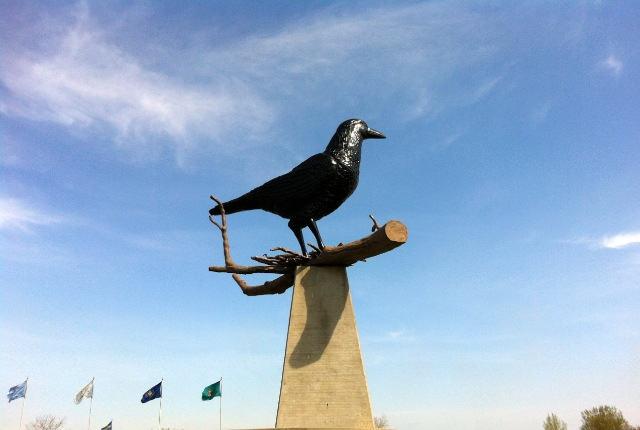 The Giant Crow Of Belgrade