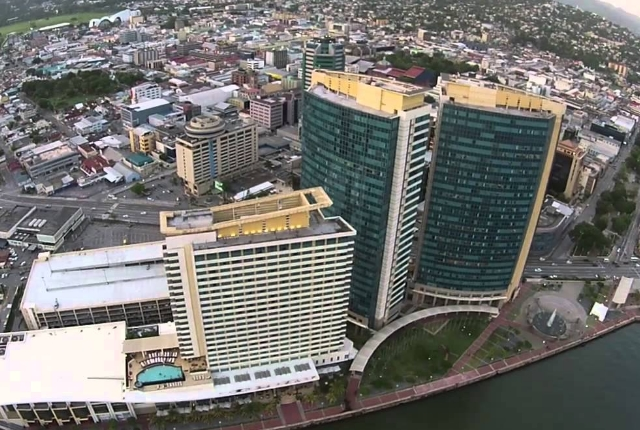 The Port Of Spain In Trinidad