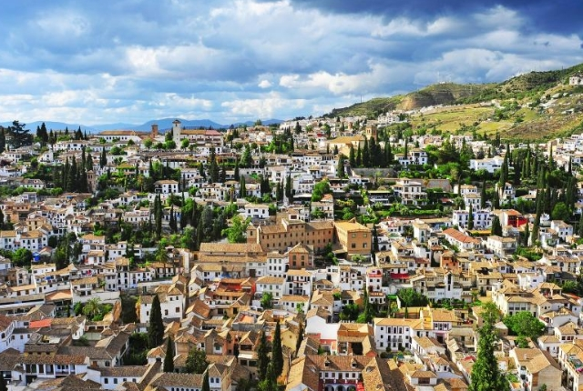 Watch The Granada City From Sacromonte