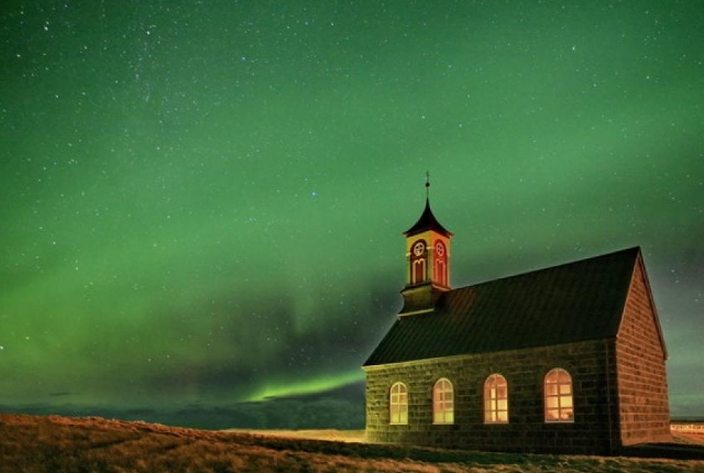 Gaze At Impressive Northern Lights