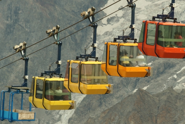 Ride the Aerial Tramway