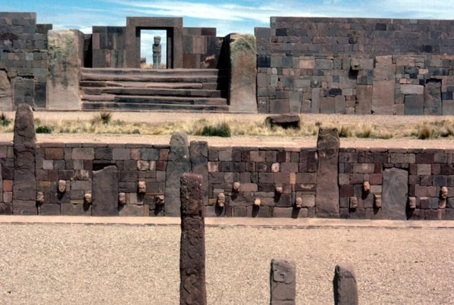The Ruins Of Tiwanaku