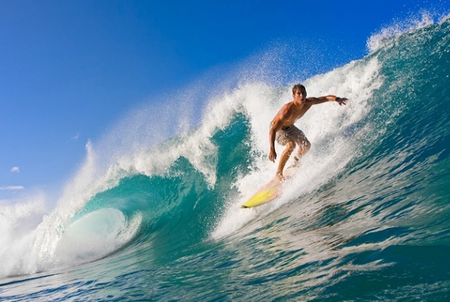 Go Surfing At The Christmas Island