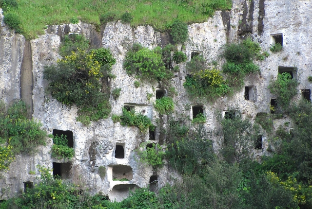 The Ancient Tombs Of Pantalica, Southeast Sicily