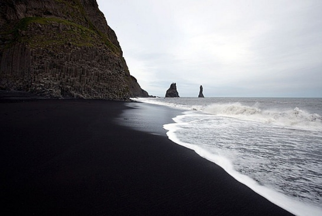 9 rare and beautiful black sand beaches around the world. Black Bedroom Furniture Sets. Home Design Ideas
