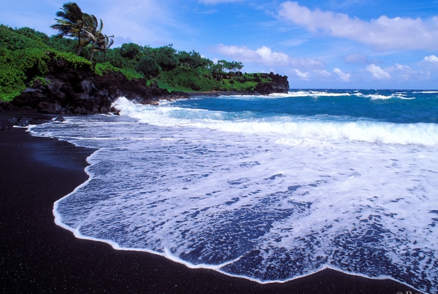 9 rare and beautiful black sand beaches around the world for How many black sand beaches in the world