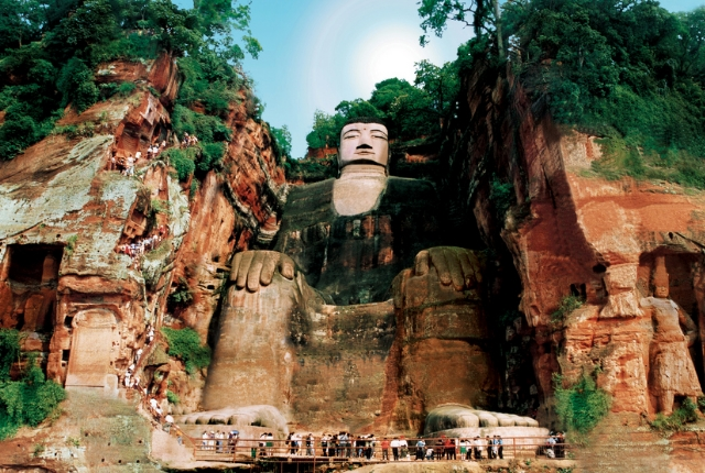 Giant Buddha Sculpture Of Leshan