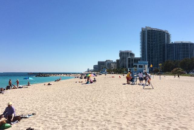 Haulover Beach: best beach in the world.   Guinness World
