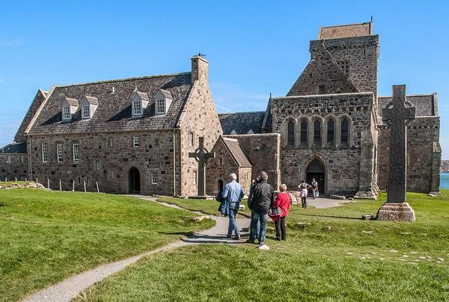 Historic Cathedral And Cemetery Of Iona Isle