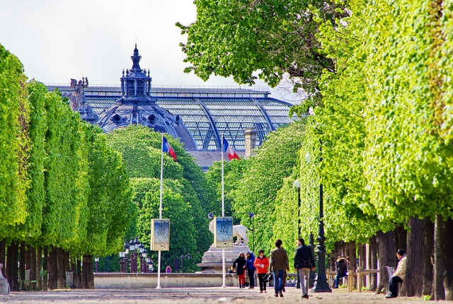 Take A Romantic Walk At Jardin Des Tuileries