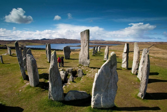 The Calanais Stone Of Isle Of Lewis