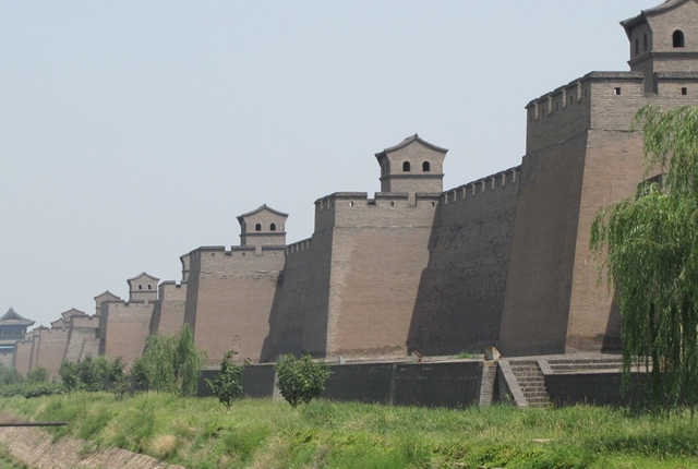 The Wall Of Pingyao Ming City