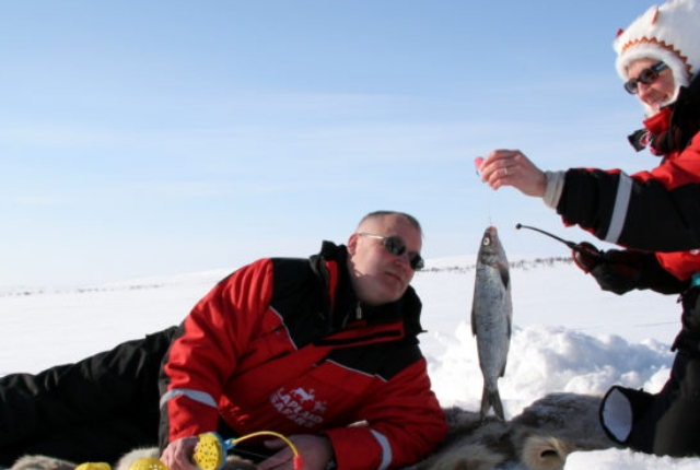 Go For Ice Fishing And Try Your Luck At Gold Mines