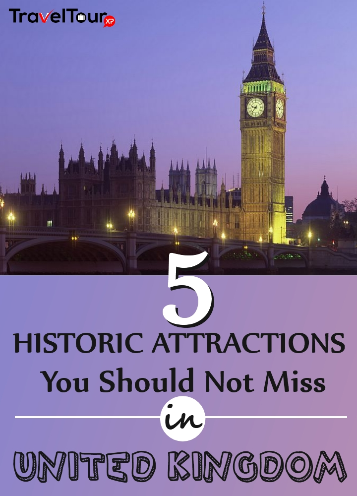 Historic Attractions In United Kingdom