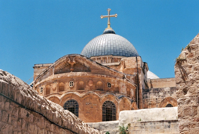 Holy Sepulcher Church, Jerusalem, Israel