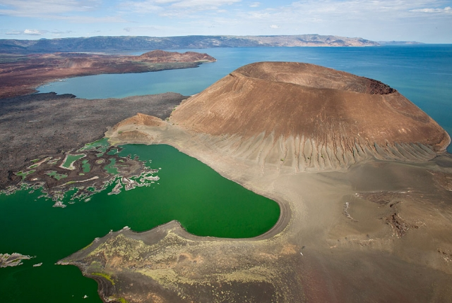 Lake Turkana Or Lake Rudolph, Kenya