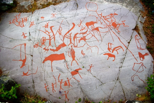 Prehistoric Rock Paintings Of Alta