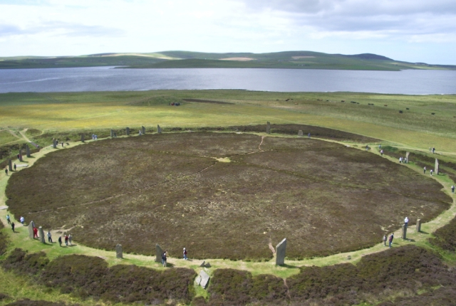 Prehistoric Site Of Ring Of Brodgar