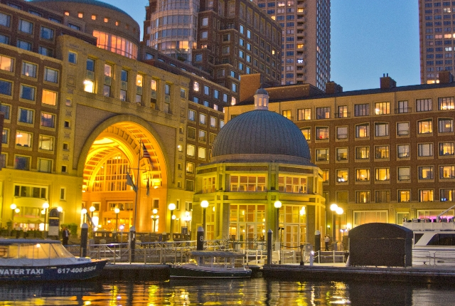 The Glamorous, Boston Harbor Hotel