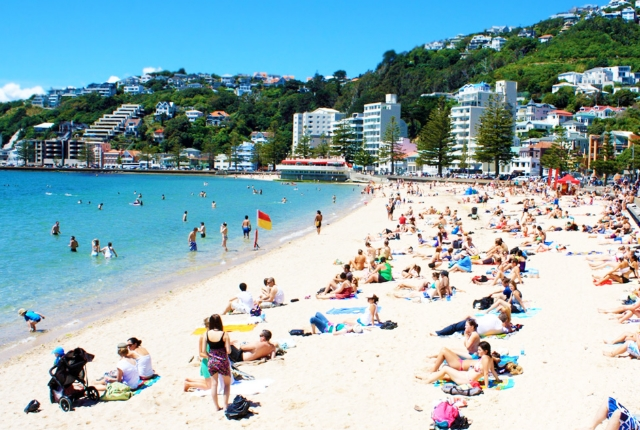The Pulsating, Oriental Bay Beach, Wellington
