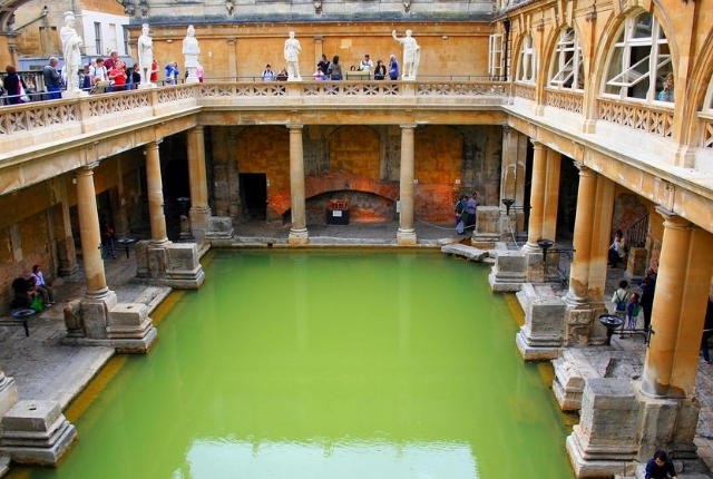 The Roman Bath, Great Britain