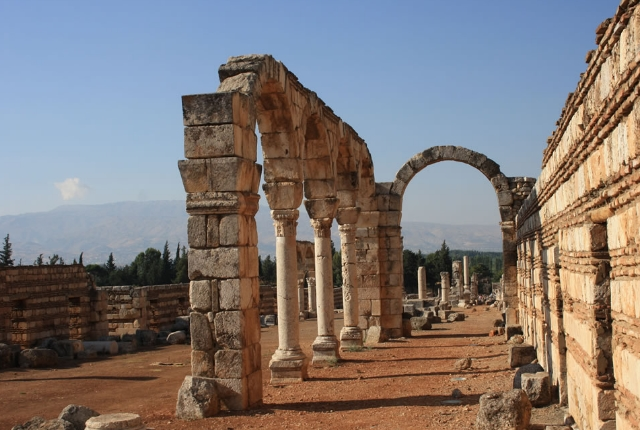 The ancient Site Of Anjar