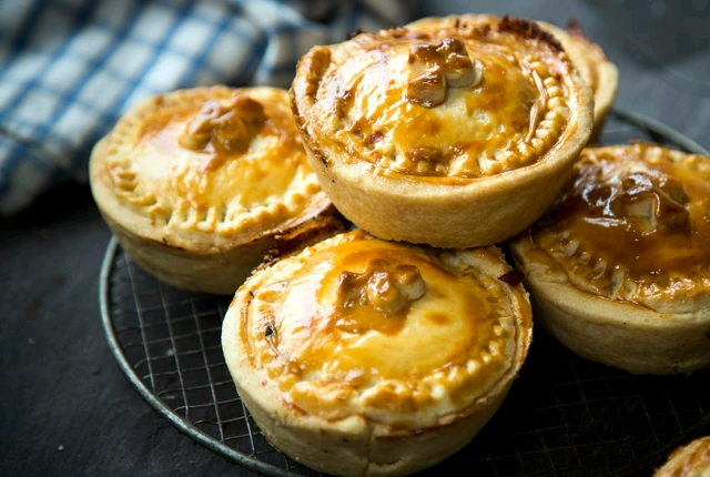 Bacon And Cabbage Pies