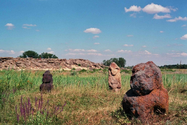 Archeological site of Kamyana Mohyla, Melitopol