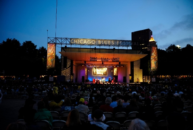 Attend Chicago Blues Festival