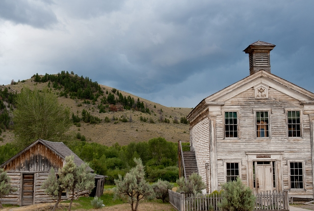 Bannack State Park of Dillon