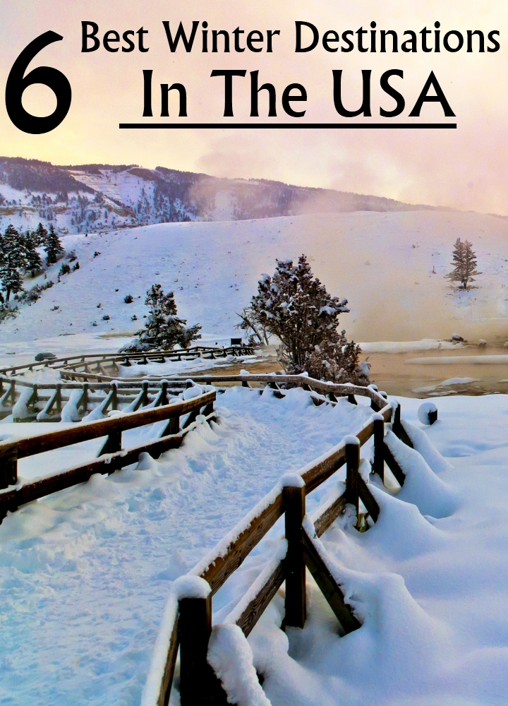 6 best winter destinations in the usa for Winter trip in usa