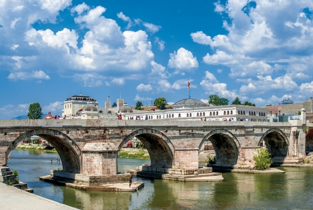 Gaze At Skopje's Iconic Stone Structures