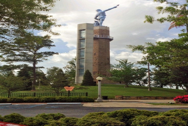 Get A Close Look At The Statue Of Vulcan, Birmingham