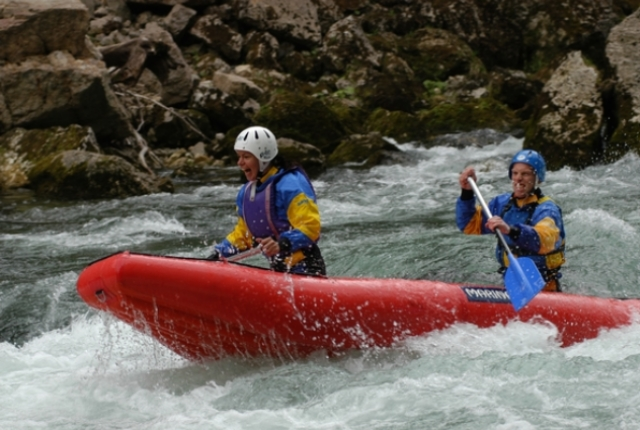 Go For White Water Rafting