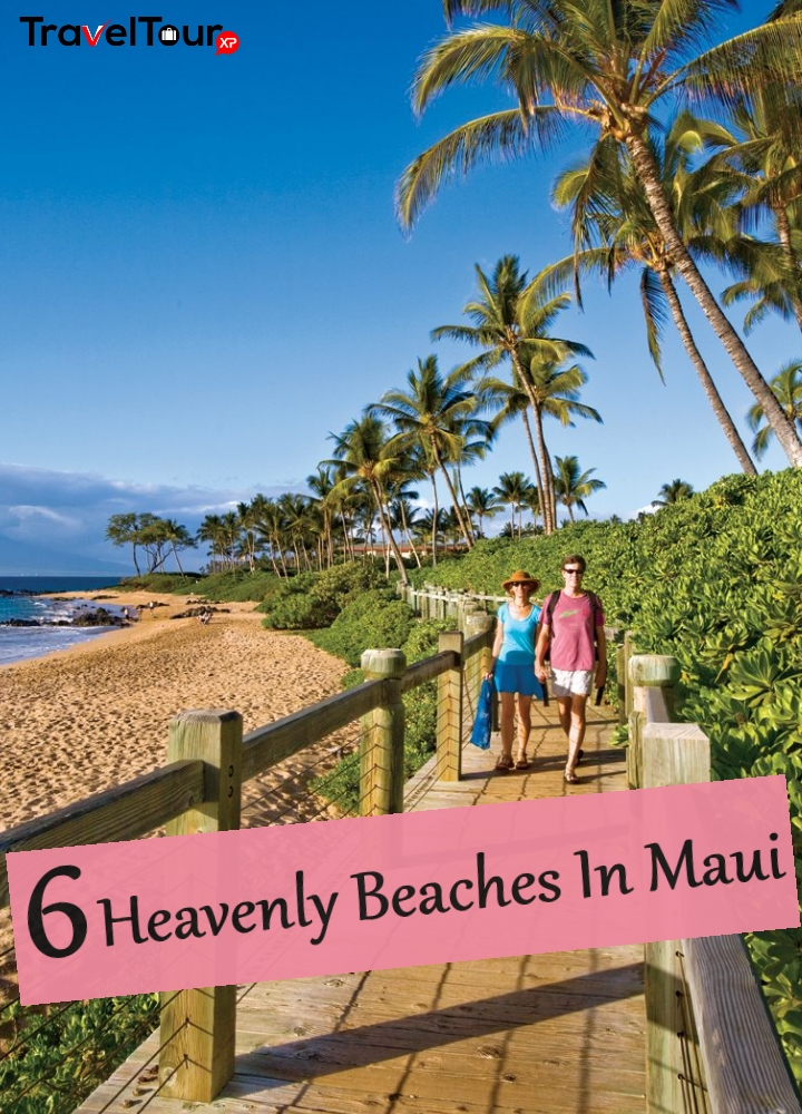 Heavenly Beaches In Maui