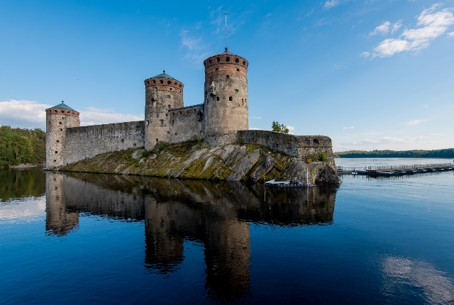 Lake Saimaa And Savonlinna