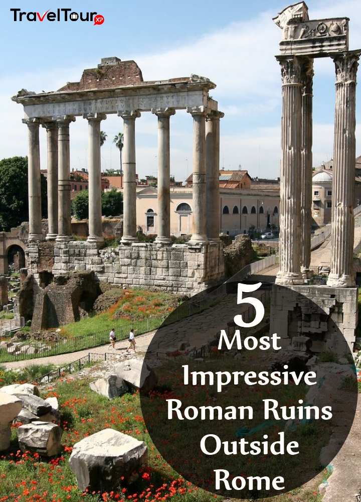 Most Impressive Roman Ruins Outside Rome