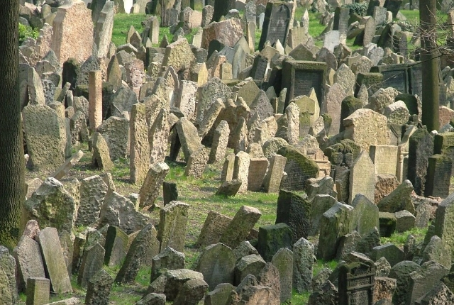 Old Cemetery Of Jews, Czech Republic