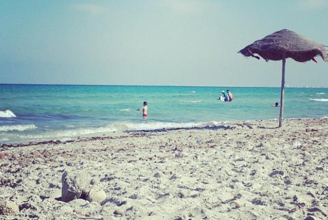 Plage De Chaffar Beach