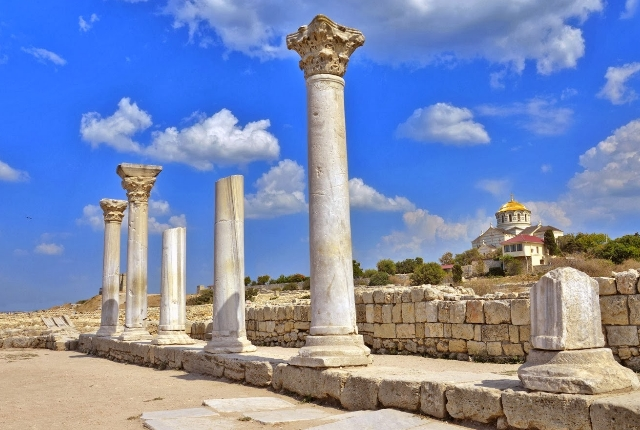 The Ruins of Chersonesus, Crimea Peninsula