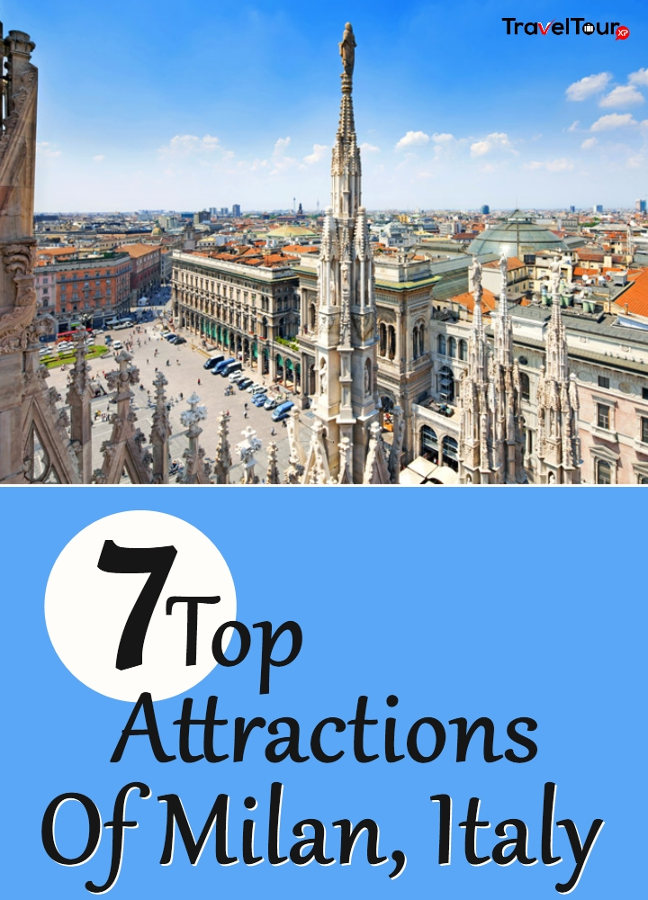 7 top attractions of milan italy for Best places in milan