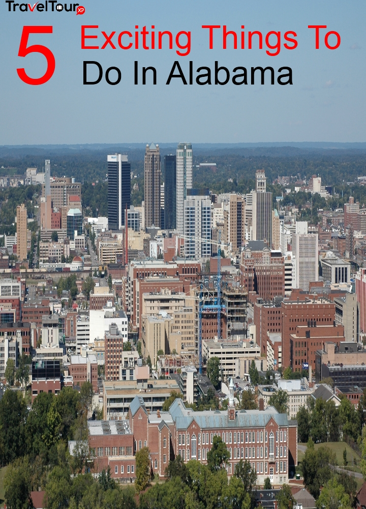 5 Exciting things To do in Alabama