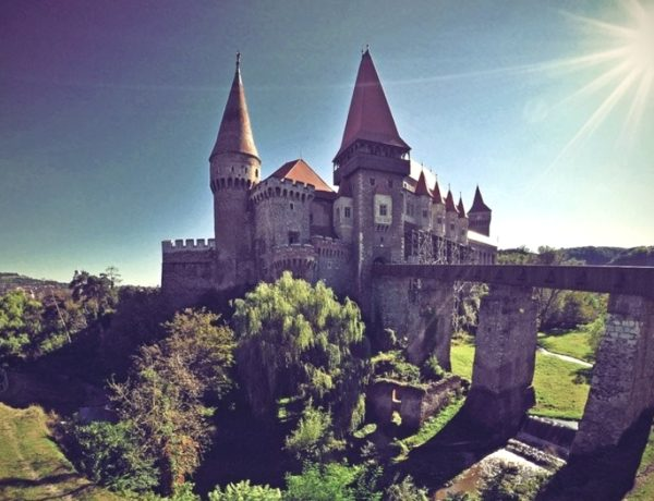 Beautiful Fortress Of Romania