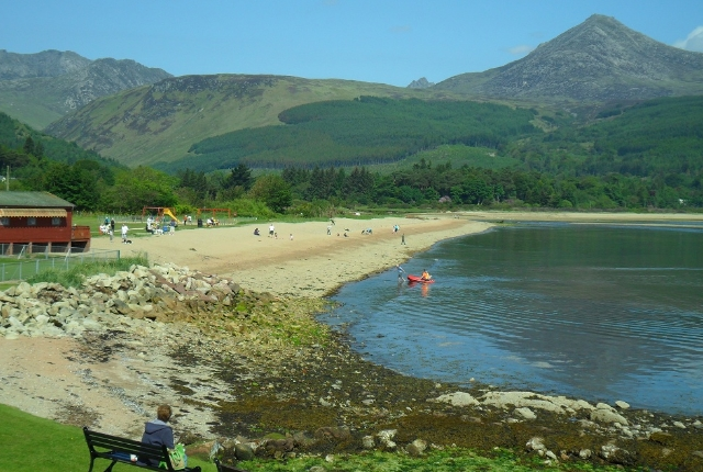 Brodick Town And Beach