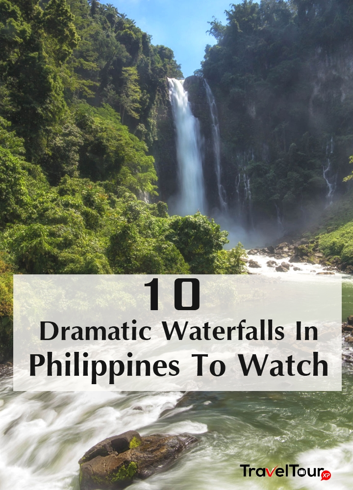 Dramatic Waterfalls In Philippines To Watch