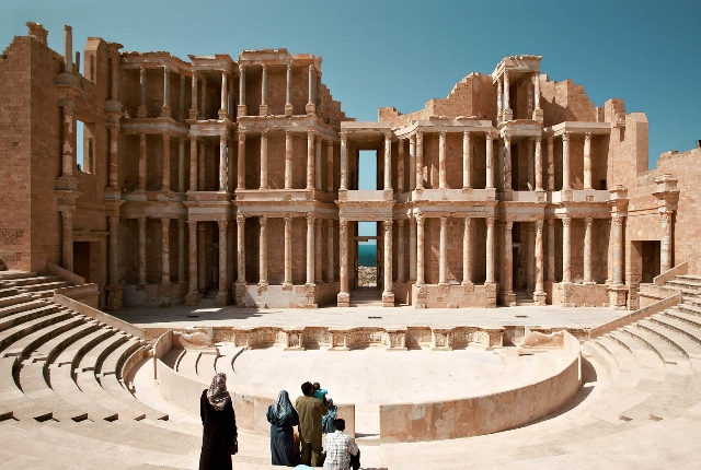 The Archeological Site Of Sabratha, Libya