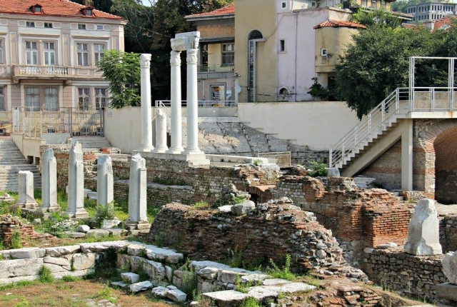 The Roman Forum Of Plovdiv