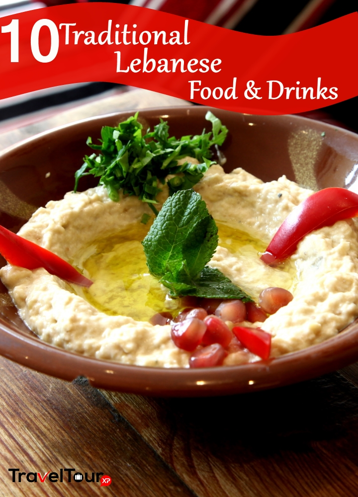 Traditional Lebanese Food And Drinks