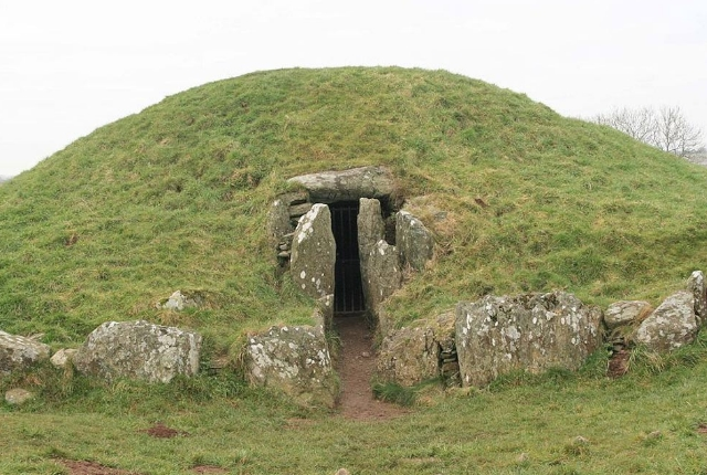 Witness The Prehistoric Site Of Bryn Celli Du